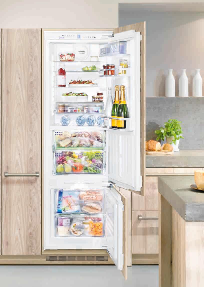 ᐅ Liebherr Einbau-Kühl-Gefrier-Kombination ICN 3366 Premium NoFrost