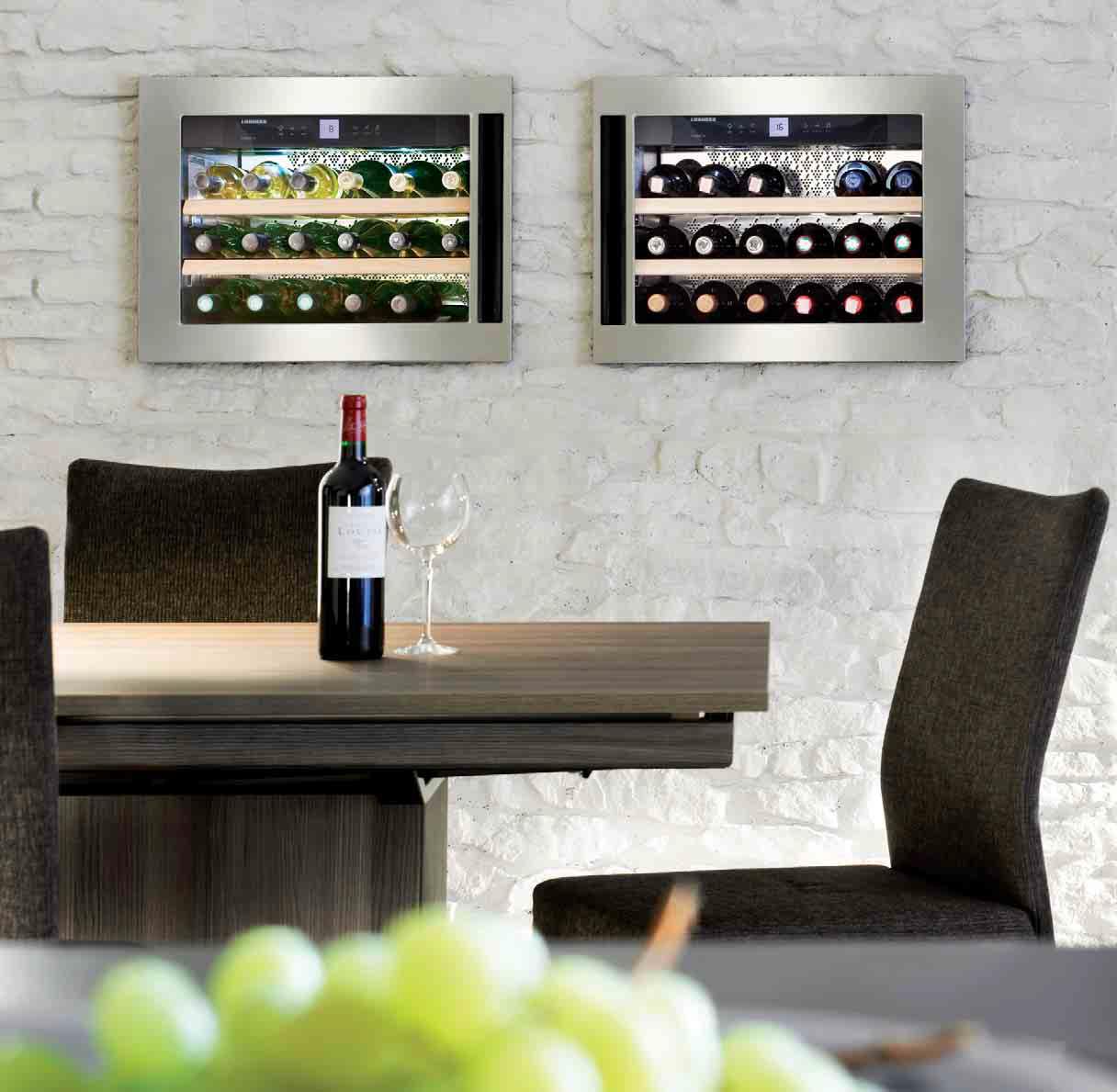 ᐅ Liebherr Einbau-Weinkühlschrank WKEes 553 GrandCru