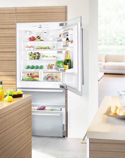 liebherr einbau k hl gefrier kombination ecbn 5066 premiumplus biofresh nofrost. Black Bedroom Furniture Sets. Home Design Ideas