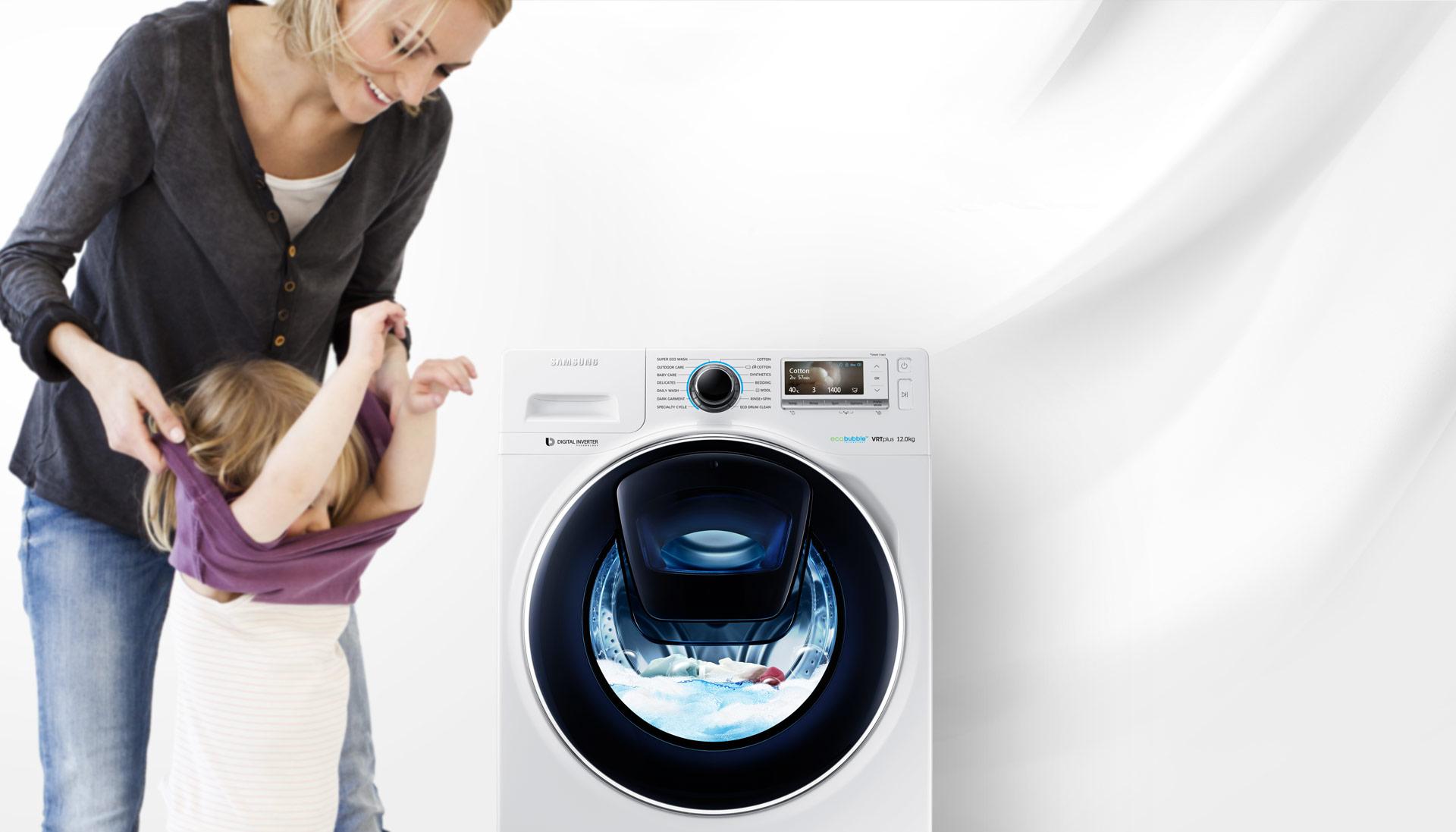Резултат с изображение за Samsung Waschmaschine WW5500 AddWash WW80K5400UW/EG